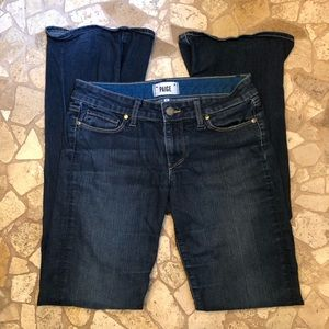Paige Skyline Bootcut Jeans 28x33 Carson Wash